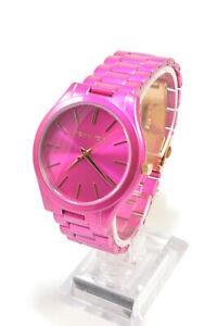 Michael-Kors-MK4414-Slim-Runway-Quartz-Pink-Dial-Stainles-Steel-Ladies-Watch