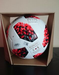 Adidas Telstar World Cup 2018 Russia Official Match Ball In Box With Nfc Chip 191037549287 Ebay