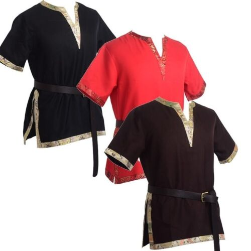 Medieval SCA Reenactment Aristocrat Chevalier Cosplay Costume Applique Tops