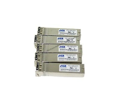 TESTED Lot of 10x AOI A7EL-SN85-ADMA 10GB 850nm MMF SFP Transceiver Dual LC