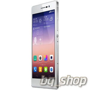 """Huawei Ascend P7 Dual Sim 5.0""""8MP Quad-core 1.8 GHz White Android Phone By FedEx"""