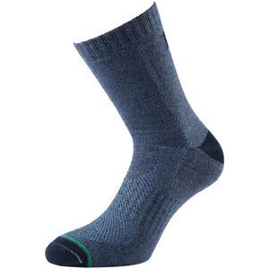 1000 Mile Mens All Terrain Sock Double Layer Walking Running Army Socks Sapphire
