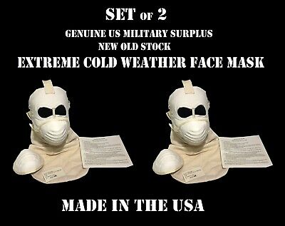 Extreme Cold Weather,Face Mask,Green,Military,NEW --1ea.
