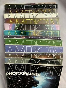 Lot-Of-13-American-photographer-magazine-1978-To-1982