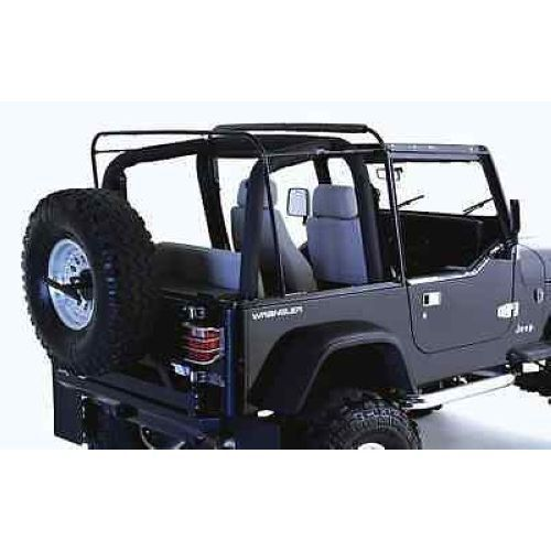 Rampage 69999 Replacement Soft Top Bow /& Hardware fits 87-95 Wrangler