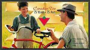 Canada-Full-Pane-of-12-in-Cover-Canadian-Tire-75th-Anniversary-1636-MNH