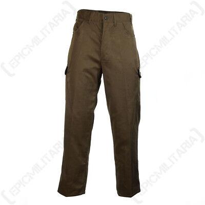 Army Surplus Pants Navy Uniform All Sizes Original Dark Blue Service Trousers