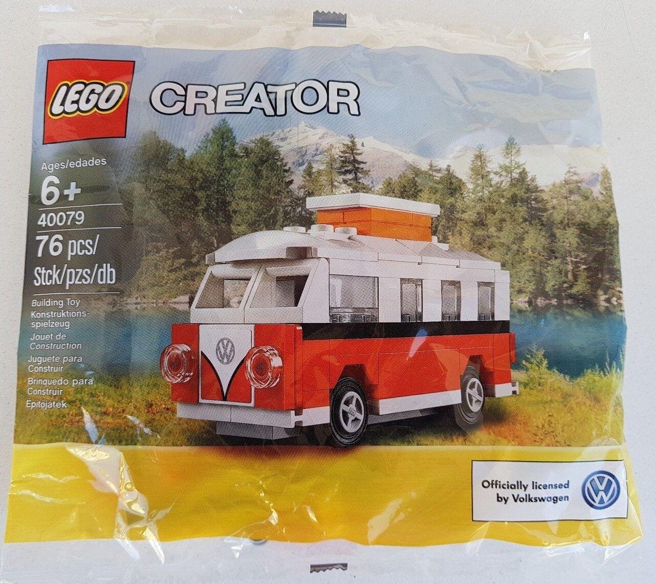 Lego ® Creator 40079 mini VW volkswaagen coche matrícula t1 Camper autobús polybag nuevo embalaje original