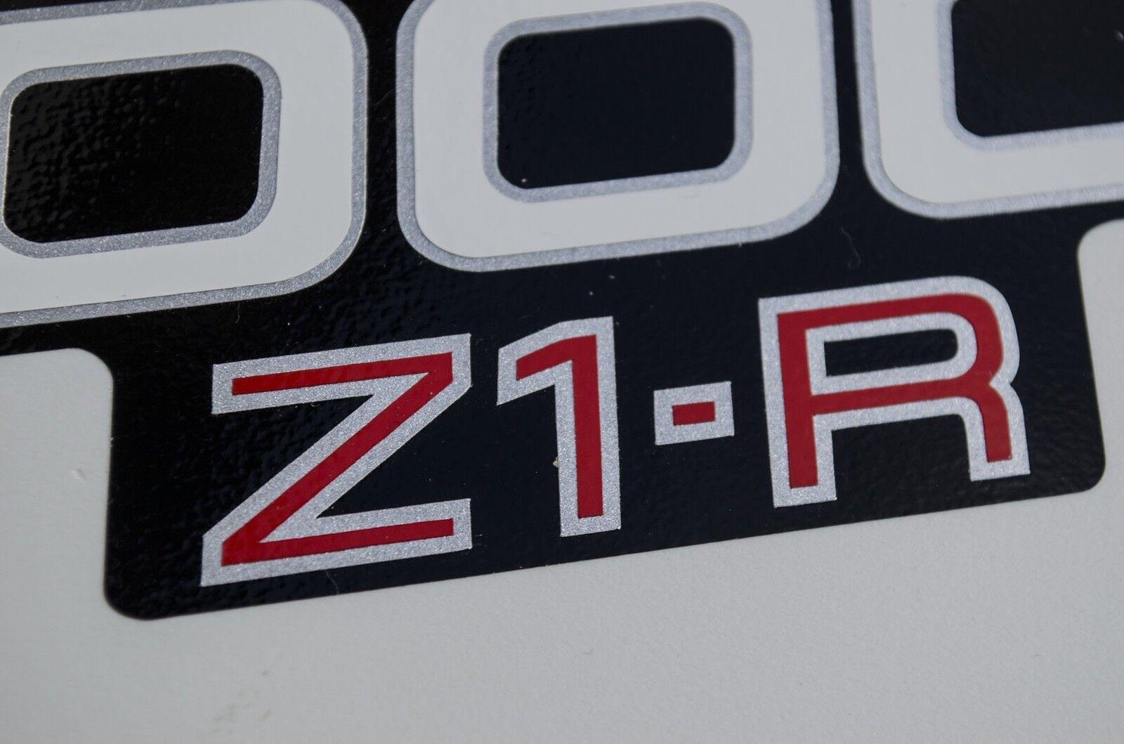 Kawasaki Z 1000 Z2-R Seitendeckel Emblem Aufkleber Decals 2 Stück