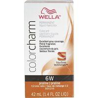 Wella Color Charm Liquid Haircolor 6w Praline, 2 Oz (pack Of 6) on sale