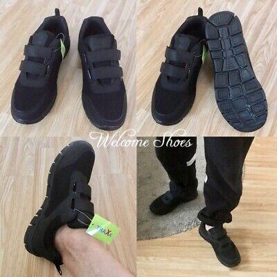 Men ORTHOPEDIC Shock Absorb Run Cross Flexi-Sole Casual Trainer Shoe Sport Size