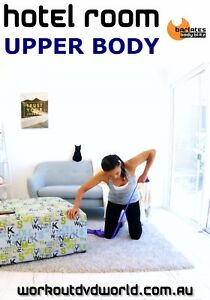Toning-Arms-EXERCISE-BAND-DVD-Barlates-Body-Blitz-HOTEL-ROOM-Upper-Body