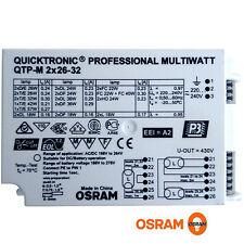 OSRAM EVG Vorschaltgerät 2x26-32 Quicktronic QTP-M Multiwatt NEU DEL TEL TC W