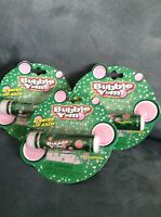 Lotta Luv Bubble Yum Flavored Lip Balms .15 Oz - Brand - Lot Of 3