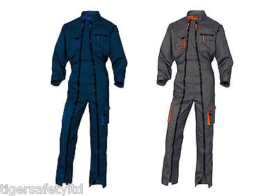 Gut Delta Plus Panoply M2cdz Mach2 Mens Double Zip Work Overalls Coverall Boilersuit