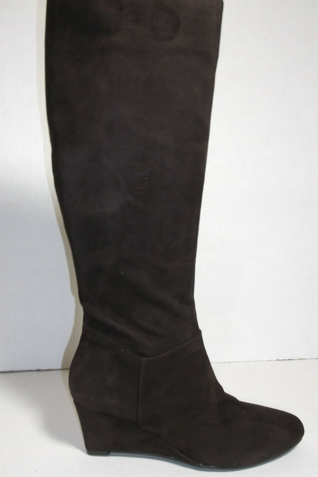 MARC FISHER MF VERIFIES tall wedge daek marron femmes  bottes SZ 5.5M NEW IN BOX