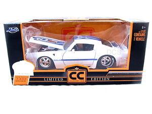 Jada-1972-PONTIAC-TRANS-AM-WHITE-LIMITED-EDITION-1-OF-7500-1-24-Diecast-Car