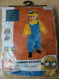 Child's Despicable Me Minions Movie Minion Stuart Costume Toddler 3T-4T - eBay