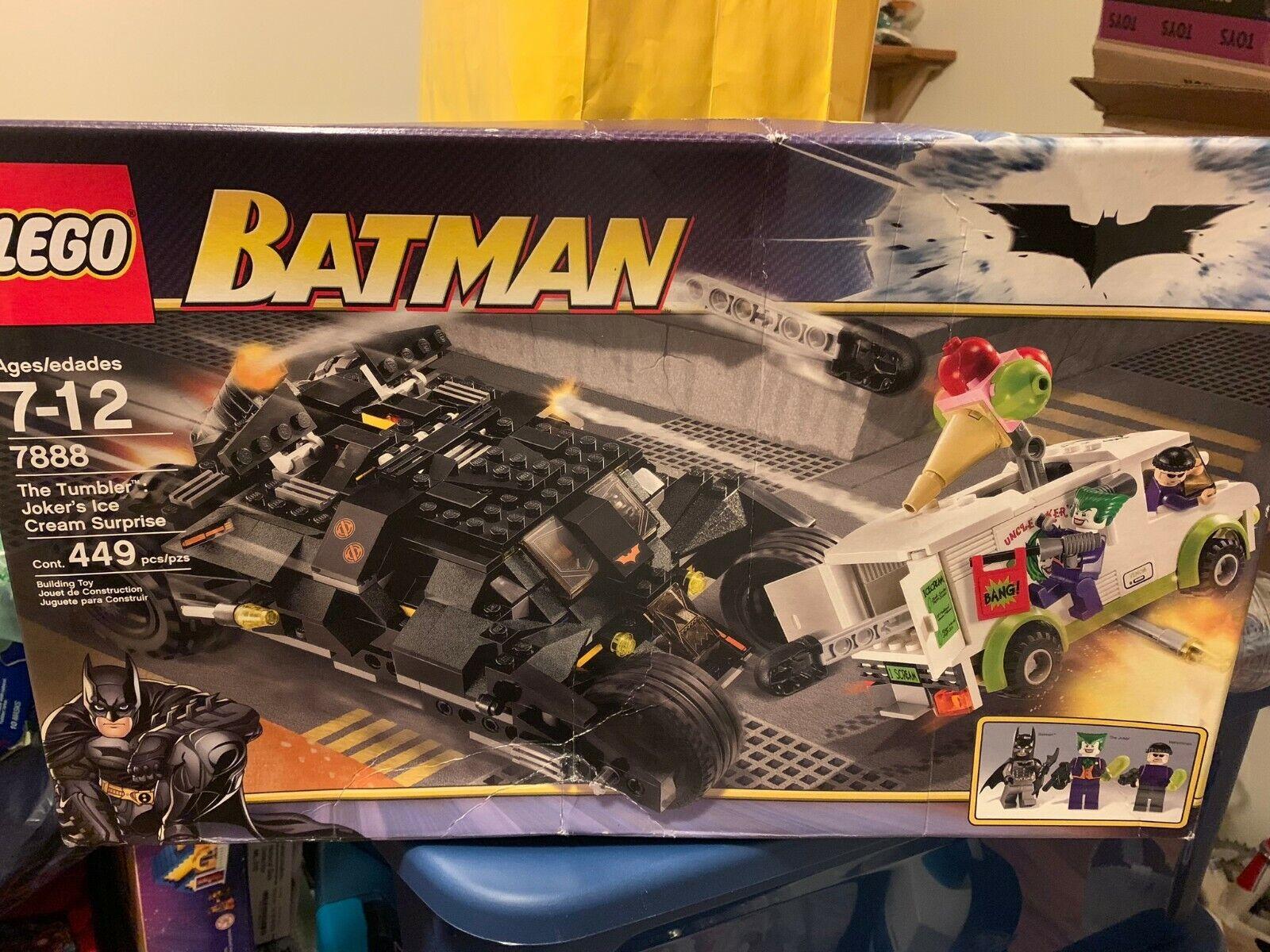 Lego Batman The Tumbler Joker S Ice Cream Surprise 7888 For Sale Online Ebay