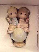 precious moments 30th anniversary new in box share the gift of love figurine