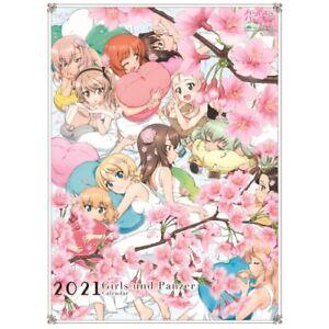 Girls und Panzer final chapter Wall Calendar 2021 / From Japan