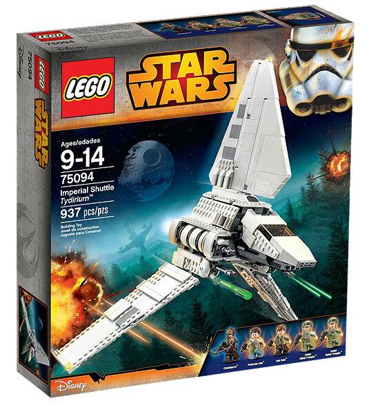 STAR WARS Lego set 75094 Imperial SHUTTLE Tydirium NEW Sealed Box FREE Shipping