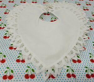 12-Piezas-Battenburg-Encaje-Ribete-Algodon-Blanco-10-034-Victoriano-Bordado-Vestido