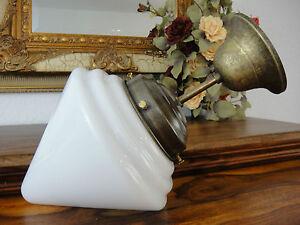 Plafoniere Eleganti Da Soffitto : Deckenlampe jugendstil hängelampe messing antik deckenleuchte glas