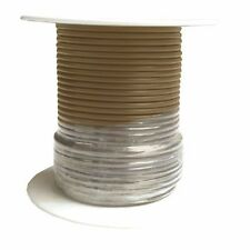 16 Gauge Tan Primary Wire 100 Foot Spool : Meets SAE J1128 GPT Specifications