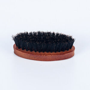 Men-Boar-Hair-Bristle-Beard-Mustache-Brush-Military-Hard-Wood-Handle-Comb-CN99