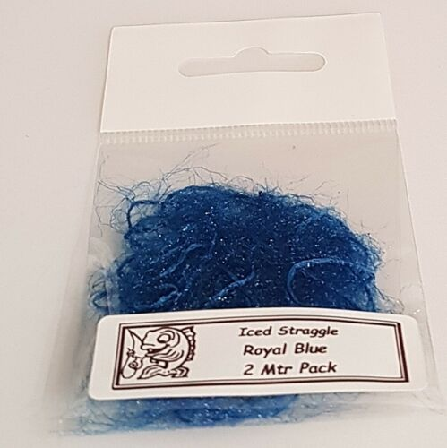 Royal Blue Iced Straggle Fly Tying Material