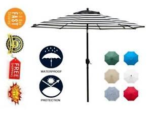 9ft Patio Umbrella Market Table Outdoor