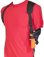 Gun Shoulder Holster For Taurus Pt909, Pt940 & Pt945 With Underbarrel Laser
