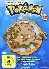 DIE WELT DER POKEMON 17   1. Staffel / 49-51    DVD #ZZ   Pokémon