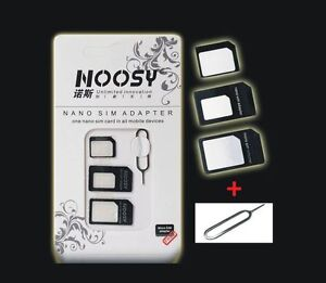 multi kartenadapter set sim karte adapter kartenleser. Black Bedroom Furniture Sets. Home Design Ideas