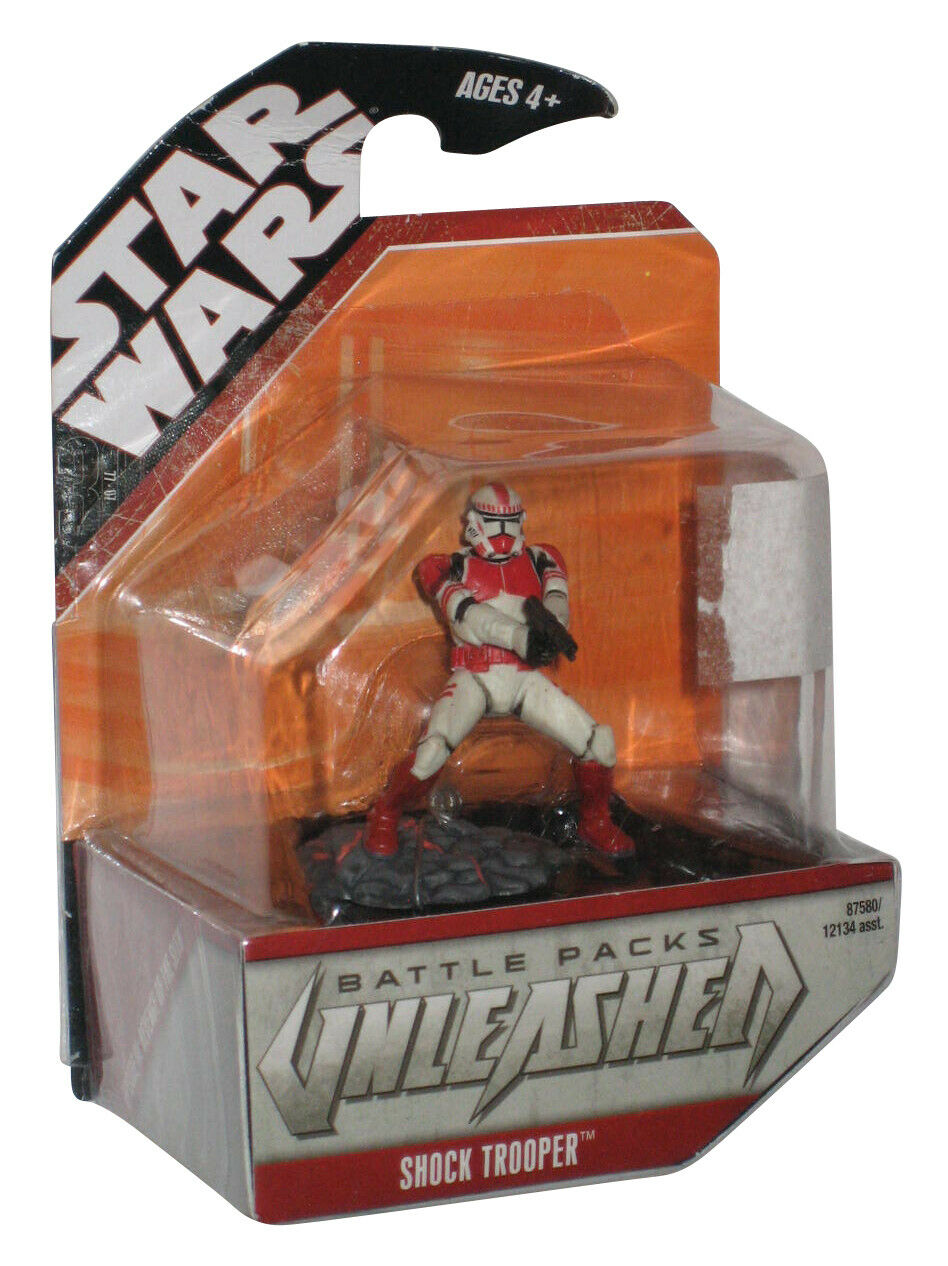 Figurine StarWars : Star Wars 30ème Anniversaire Packs de Bataille Unleashed Shock Trooper Figurine