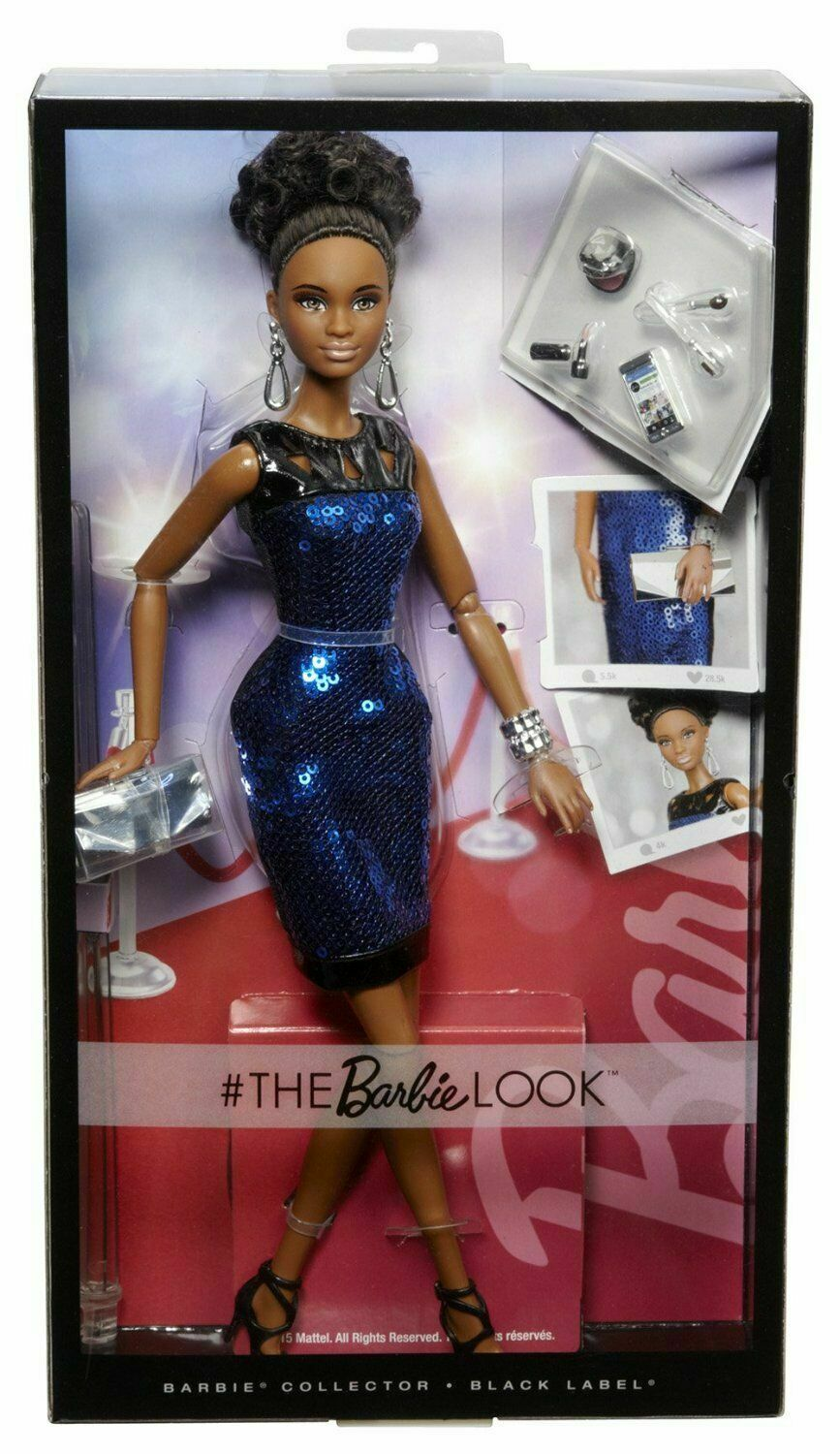 The Barbie Look Look Look Night Out African American Doll - Mattel - Brand New - NRFB 69ddbc