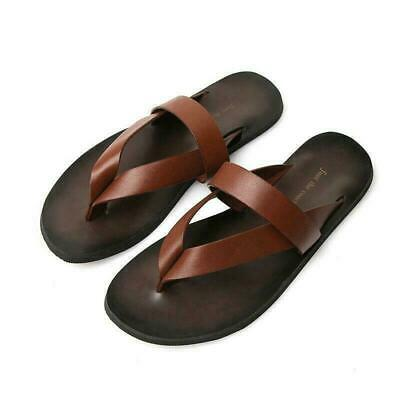 Breathable Mens Summer Outdoor Beach Sandals Non-Slip Closed Toe Anti-Collision Slippers Switch Backless Sandals Soft