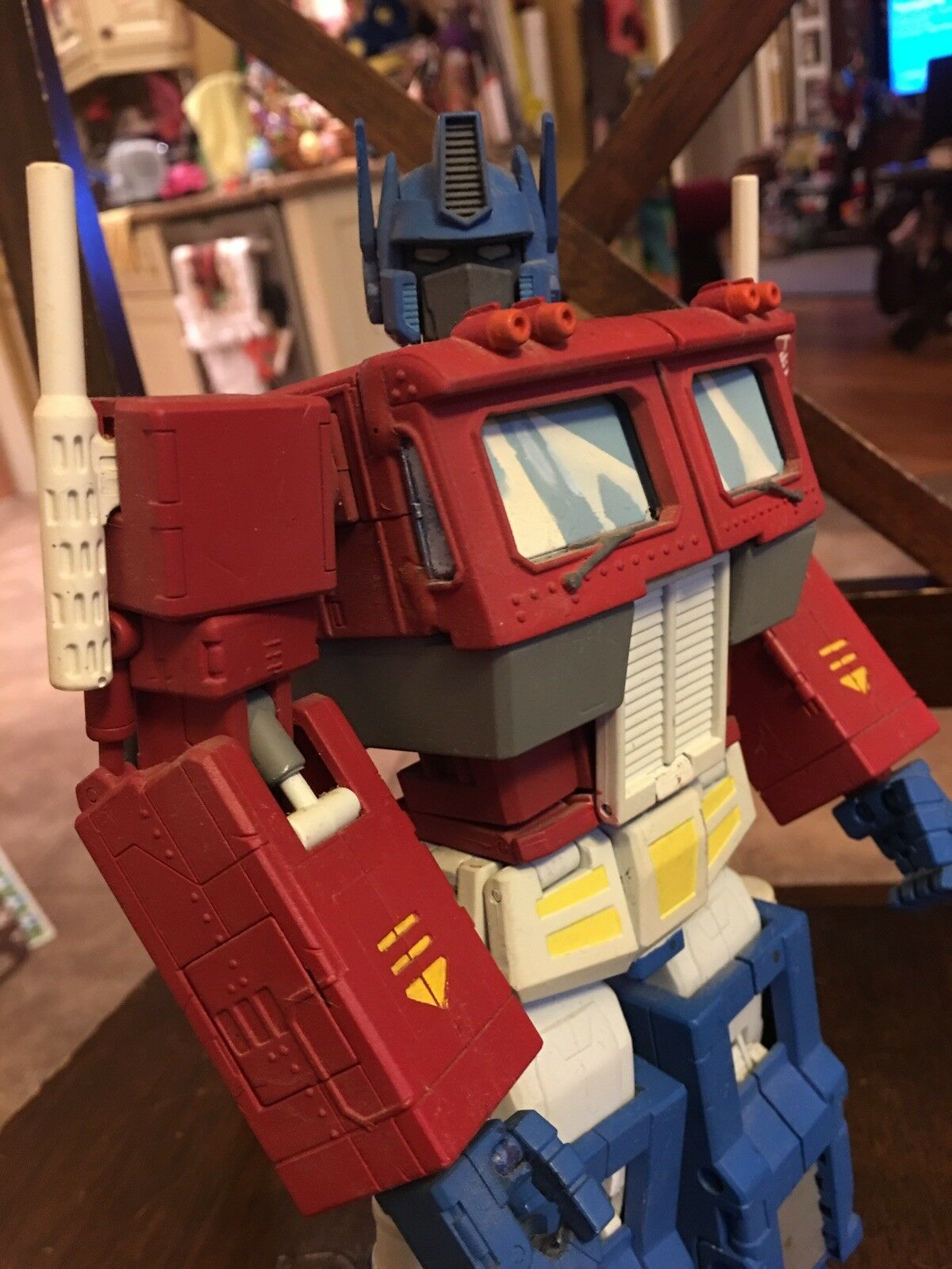 Transformers MASTERPIECE Cartoon style OPTIMUS PRIME