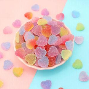 10Pcs-lot-Fake-Heart-Shape-Candy-Resin-Craft-DIY-Making-Scrapbooking-Decoration