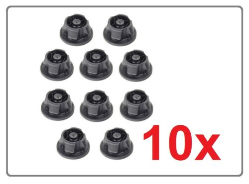 10x ENGINE COVER GOMMETS BUNG ABSORBERS Mercedes W204 W212 W461 X164 A6420940785