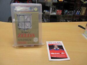 Nintendo NES SPIEL , THE LEGEND OF ZELDA - VGA 90 NM+/MT QUALIFIED - NEU - TOP