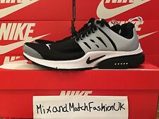 Nike Air Presto Mens Running Shoes UK 7 EU41 Black White Neutral Grey 848132-010