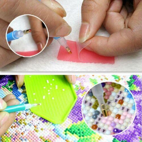 Full Drill 5D DIY Diamond Painting Night Wolf Moonlight Kits Art Embroidery