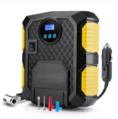 2019 Digital Tire Inflator 12V Car Portable Automatic Air Compressor Pump 150PSI