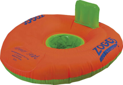 Zoggs Swimming Trainer Seat Ring Baby//Toddler Floating//Inflatable Water Aid *New