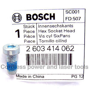 Bosch-PEX-12-400-420-A-AE-GEX-125-A-AC-Sander-Backing-Pad-Clamp-Screw-2603414062