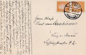 Postkarte-verschickt-von-Lindau-nach-Linz-aus-dem-Jahr-1932-an-einen-Oberst