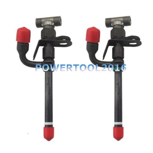 2 x Pencil Fuel Injector 28478 for John Deere 6200 6300 6400 344G 444G 7400 7500