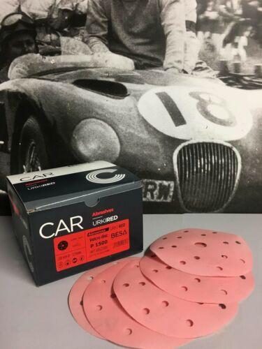 5 disques Ponçage Abrasifs Velcro P1500 haute qualité d150 Peinture Auto//Moto